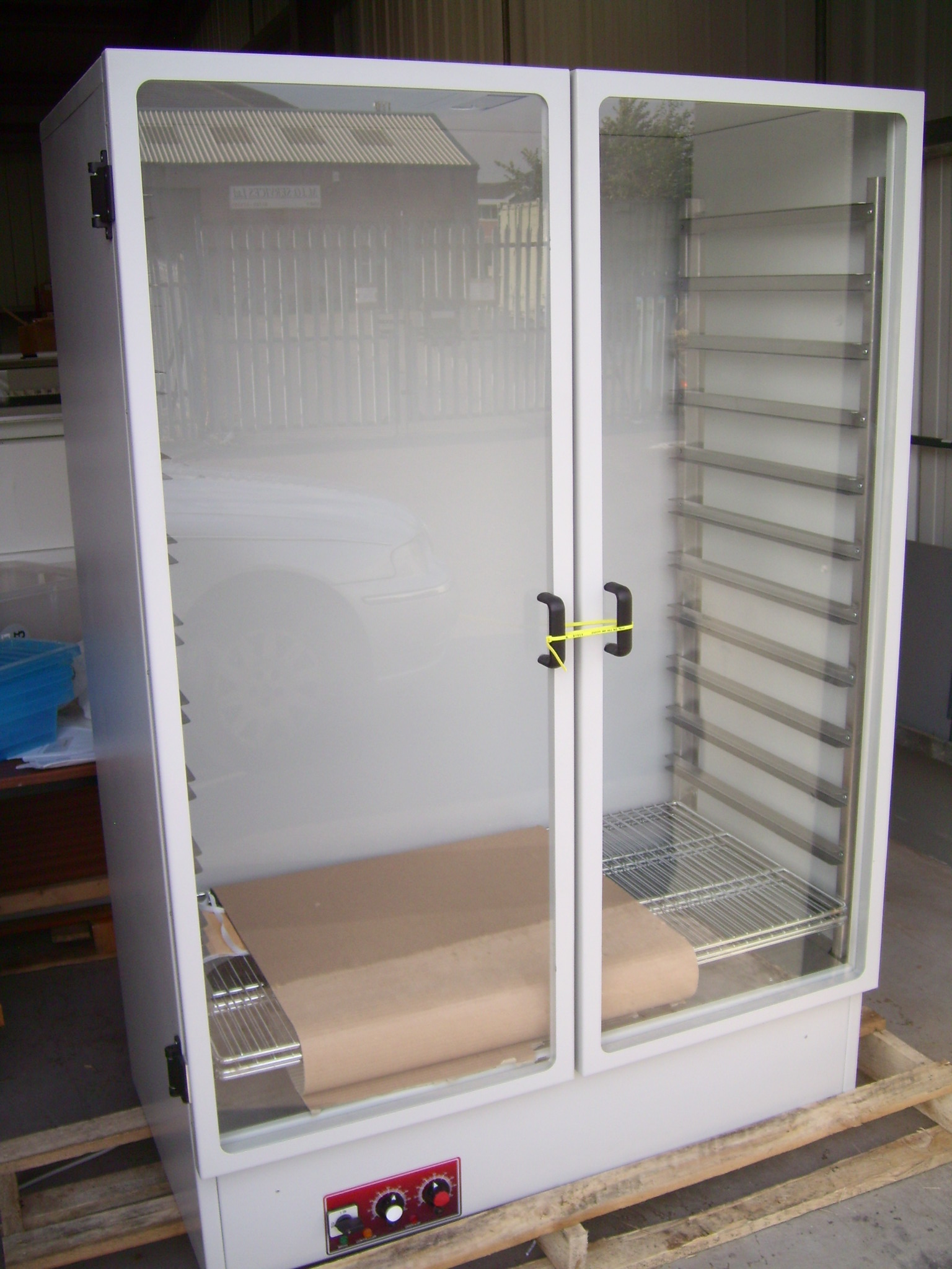 Heated Drying Cabinet ~ Used drying cabinets
